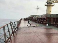 Yemen'de Türk gemisine roketli saldırı