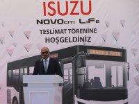 Anadolu Isuzu'dan Bingöl'e 80 araçlık dev teslimat