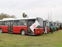Türkiye, Gambiya'ya 20 otobüs hibe etti