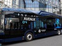 Türkiye'nin ilk elektrikli otobüsü Hacettepe Üniversitesi'nde