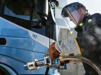 IVECO'nun LNG'li çekicisi bir dolumda 1.600 km gidiyor