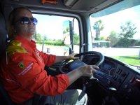 İlk kadın LNG sürücüsü Shell'de göreve başladı