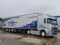 Prometeon TIR'ı 5 bin kamyon sürücüsüyle buluştu