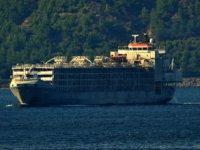 Şarbon taşıdığı iddia edilen gemiden haber var!