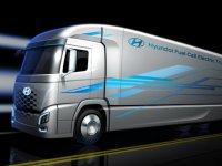 Hidrojenli Tesla Semi'ye Hyundai'den alternatif TIR