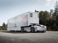 Volvo'nun sürücü kabini olmayan otonom TIR'ı