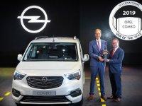 Yılın Ticari Aracı Ödülü Opel Combo'nun