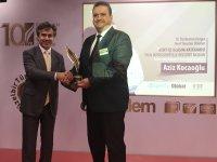 Otokar'dan İzmir Büyükşehir Belediyesi'ne ödül
