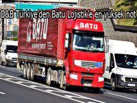 D&B Türkiye'den Batu Lojistik'e en yüksek not