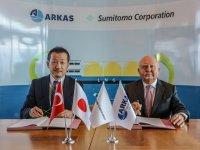 """Arkas Petrol ve Sumitomo """"geleceğin yakıtı"""" için imzaladı"""