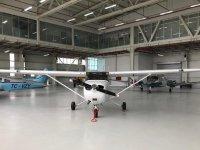 Vizyon Havacılık'ın 2500 m²'lik hangarı açılıyor