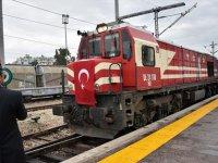 Demir İpek Yolu'nda bir yılda 110 bin ton yük taşındı