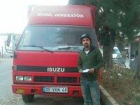 Kamyon şoförüne 'kask kullanmama' cezası