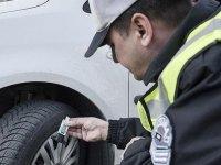 Zorunlu kış lastiği takmayanlara 625 lira ceza