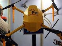 PTT 'drone' ile 20 km'ye kadar kargo taşıyacak