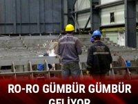 1.5 yılda bitecek, Karadeniz'in en büyük Ro-Ro'su olacak