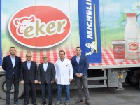 Eker Süt Ürünleri, filosunu Michelin ile donattı