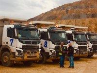 Gökçenay İnşaat, maden sahaları için Volvo'yu tercih etti