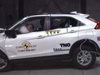Mitsubishi Eclipse Cross'a çarpışma güvenliğinden 5 yıldız