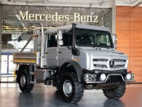 Mercedes-Benz Unimog şehre indi