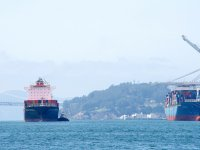 Transpacific ocean shipping rates continue to slide
