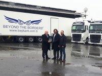 Volvo Trucks'ın 4 Midilli çekicisi bAYkant Nakliyat filosuna katıldı