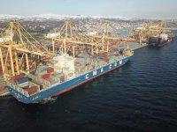 300 metrelik dev Asyaport Limanı'nda