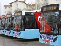 Ankara'da toplu taşımanın rengi mavi olacak