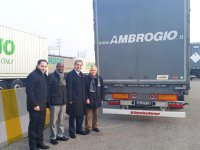Tırsan'dan AMBROGIO'ya 150 araç teslimatı