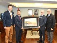 MSC ve Medlog'tan Samsun Vali ve belediye başkanına ziyaret