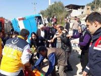 Mersin'de elim kaza: Çok sayıda ölü ve yaralı var