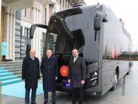 BMC'den Cumhurbaşkanı'na özel zırhlı otobüs