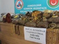 TIR dorsesinde 43 bin 170 kilo kehribar taşı