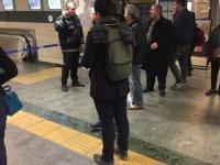 Metro seferleri durdu, istasyonlar boşaltıldı