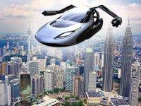 Uçan oto, toplu taşıma ve nakliyede kullanılacak