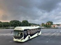 Volvo'nun sürücüsüz otobüsleri Singapur'da test edilecek