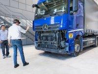 Mercedes, Aksaray ve Hoşdere'den dünyaya teknoloji ihraç ediyor