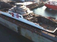 Sefine Tersanesi, 2 Ro-Ro gemisini suya indirdi