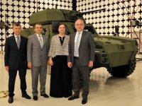 Türkiye'nin ilk elektrikli zırhlı aracı Otokar'dan