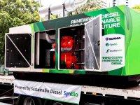 Scania, atık plastikten biyoyakıtı test ediyor