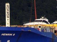 Marmaris'teki motor yatlar kargo gemisiyle Malta'ya gönderildi
