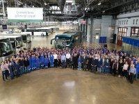 Mercedes, 90 bininci otobüsünü üretti