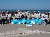 Aras Kargo 100. yıl anısına Samsun sahilini temizledi