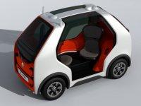 Renault'tan hızlı ulaşım ve kurye için konsept araç