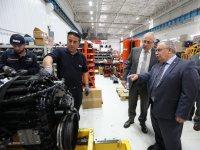 Vali Nayir'dan Otokar fabrikasına ziyaret