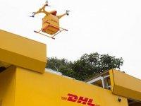 DHL Çin'de drone ile kargo sevkiyatını başlattı