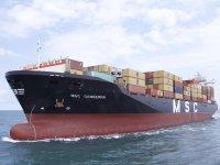 Mersin'den çıkan gemi, İsrail açıklarında yandı!