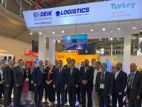 Türk lojistiği milli pavilyonuna ziyaretçi akını