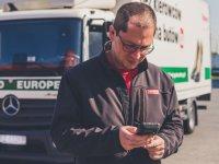 Raben Group sürücüleri, Panasonic el terminalleriyle donatıldı