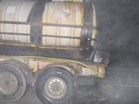 Asit yüklü tanker kaza yaptı, Bolu Dağı kapandı